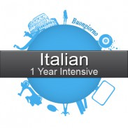 1 year Intensive Italian